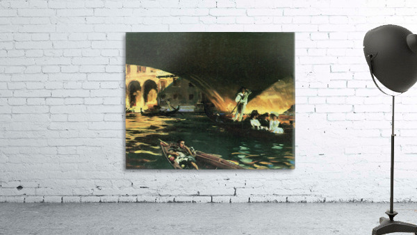 Rialto by John Singer Sargent