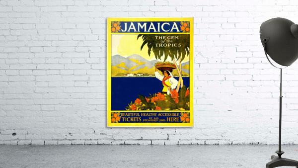 vintage retro poster travel