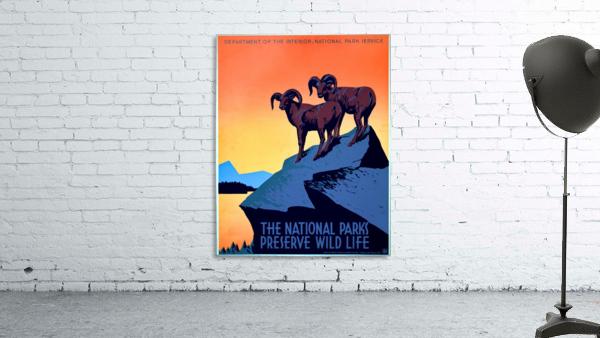 vintage poster retro advertisement