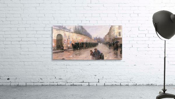 Rue Bonaparte by Hassam