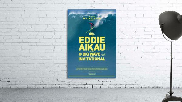 2017 QUIKSILVER - EDDIE AIKAU Big Wave Invitational Surfing Competition Print