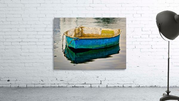 Anchored Boat at Dawn