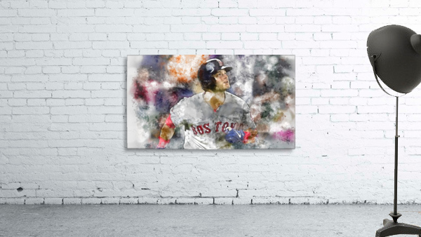 ANDREW BENINTENDI Water Color Print - Boston Red Sox Print