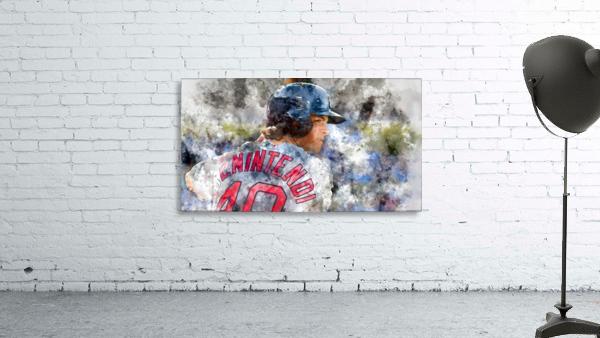 ANDREW BENINTENDI Water Color Print - Boston Red Sox Print