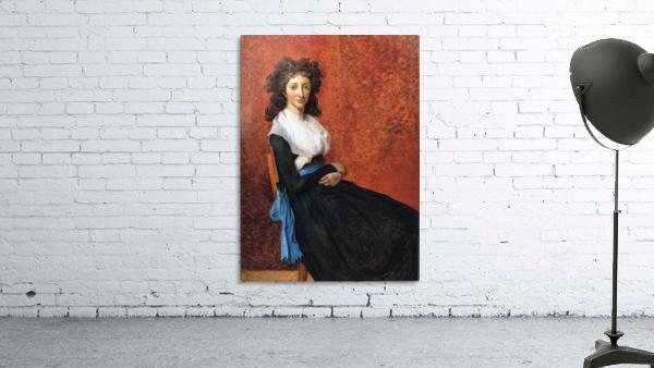 Portrait of madame charles louis trudaine 1792