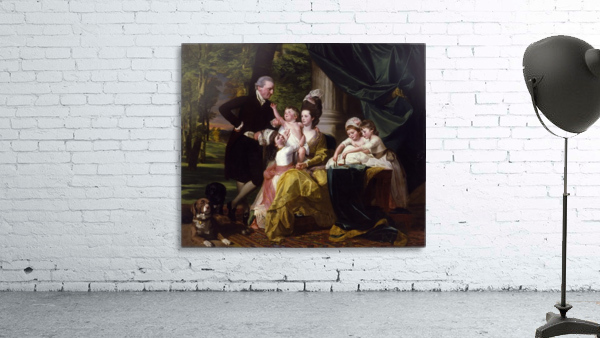 Sir William Pepperrell and His Family