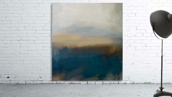 Lapis Blue Landscape