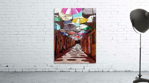 Festa Umbrellas Paciano With Shadows