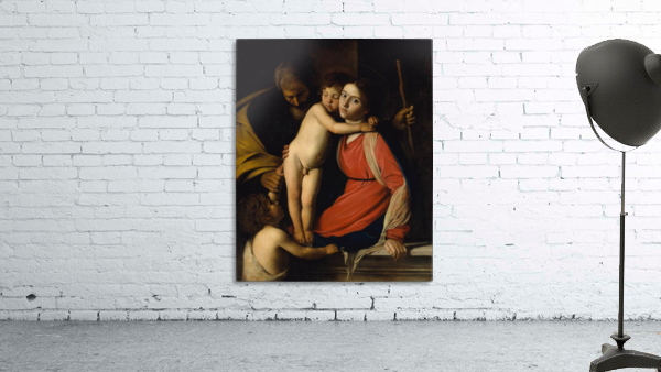 The Holy Family with the Infant St. John the Baptist