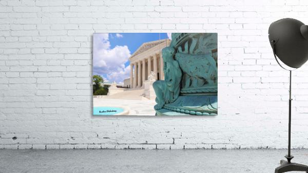 Washington DC Supreme court and Statue