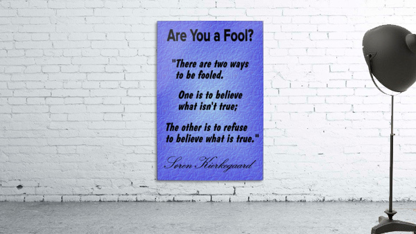 2-Are You a Fool