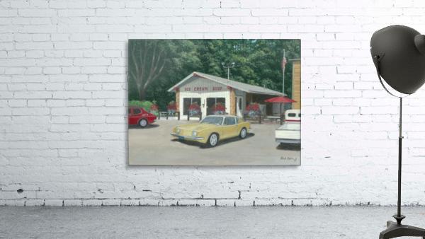 The Ice Cream Shop - Newtown Scenes  12 x 16