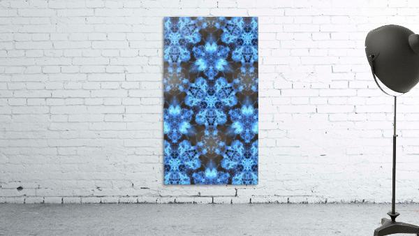 Kaleidoscope Burst of Blue