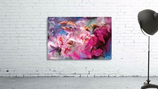floral creation abstraction