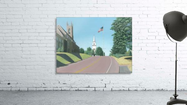Church Hill Road - Newtown Scenes 16X20