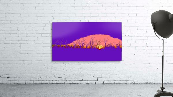 Lake Sunset - Purple