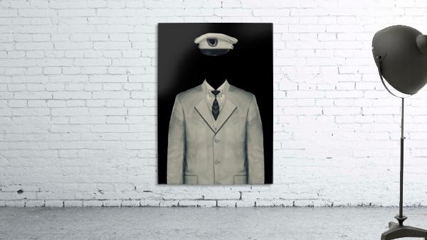 Surreal Officer Man Portrait