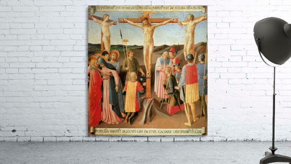 Armadio degli Argenti, Crucifixion