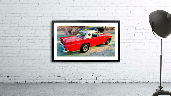 1957 FORD THUNDERBIRD - HDR - PAINTING