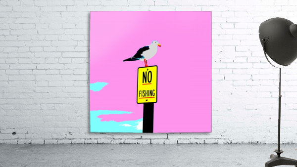 NO Fishing - Pink