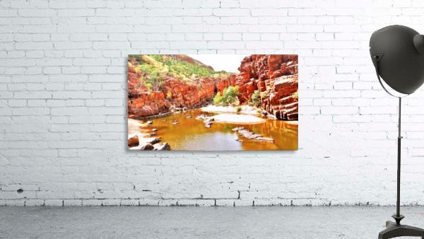 Waterhole - Ormiston Gorge