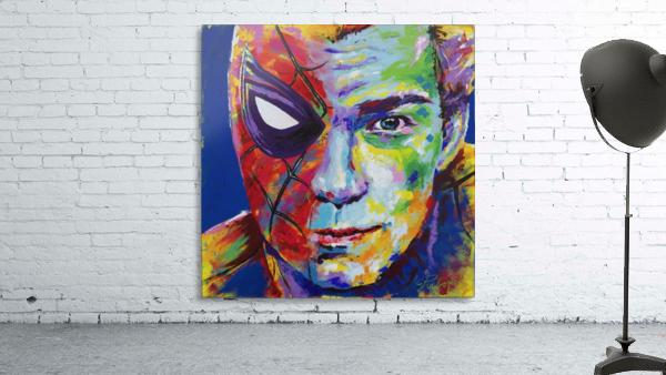 Spiderman_Portrait Art - Tadaomi -