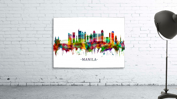Manila Philippines Skyline