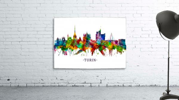 Turin Italy Skyline