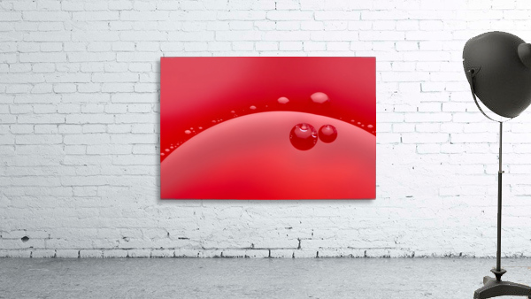 Abstract background of red color and circle shape