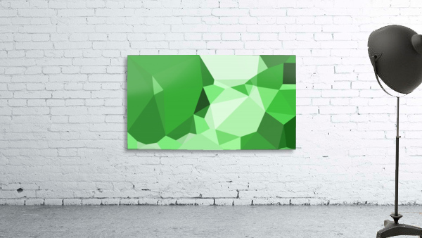 abstract geometric triangular art