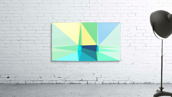 abstract colorful geometric shapes