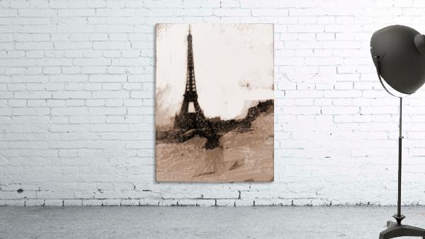 Paris Icon in Sephia