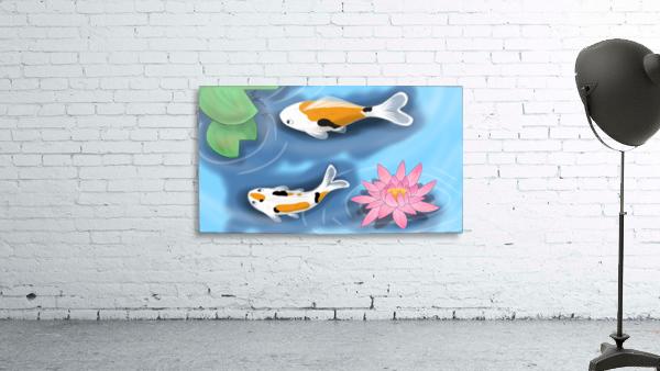 Cartoon Koi fish