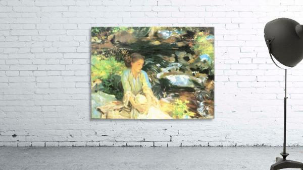The black creek by John Singer Sargent