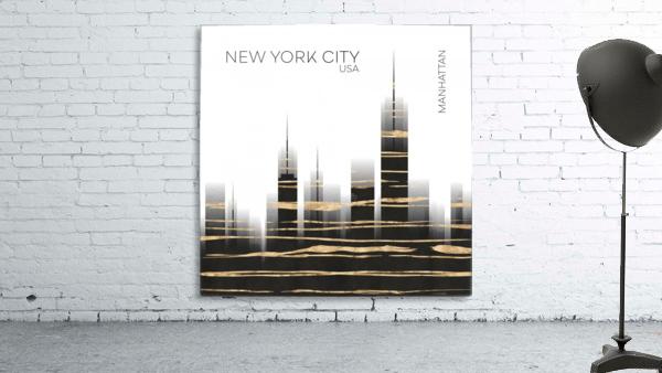 Urban Art NYC Skyline