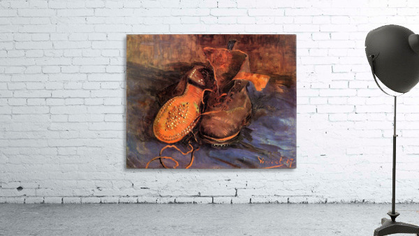 A Pair of Shoes4 by Van Gogh
