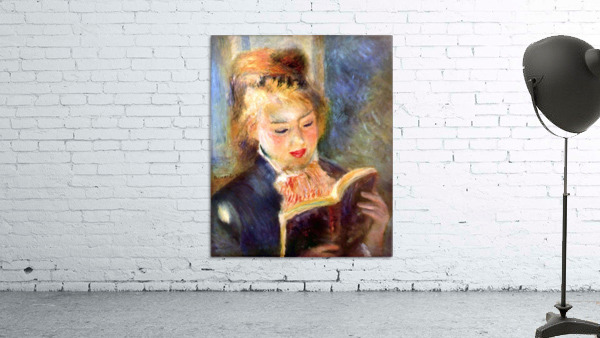 A reading girl1 by Renoir