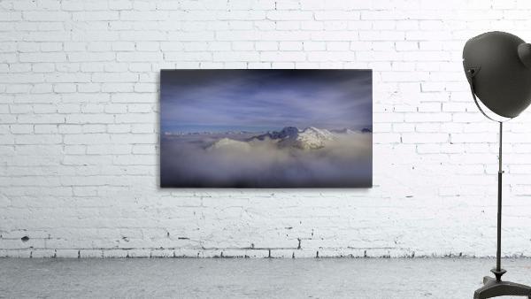 Alpine inversion Kootenay Back country