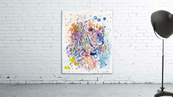 Cocker Spaniel Dog - Portrait of Charlie