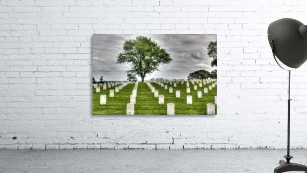 Cemetery Memorial Flags