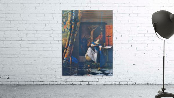 Allegory of Faith by Vermeer