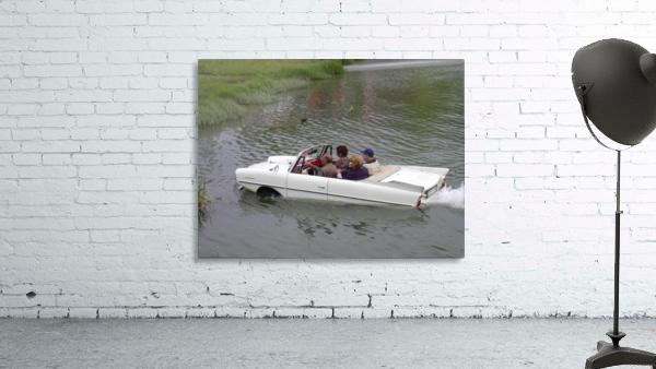 Amphicar model Unique amphibious model car