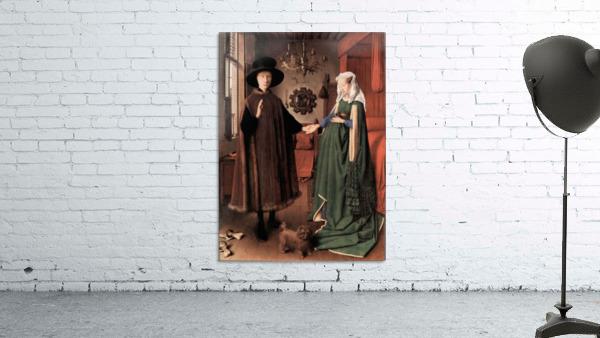 Arnolfini Wedding by Jan Van Eyck
