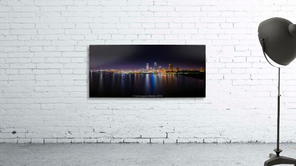 Milwaukee Skyline of Color