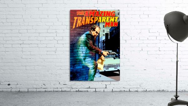 The Amazing Transparent Man 1960 Poster 1
