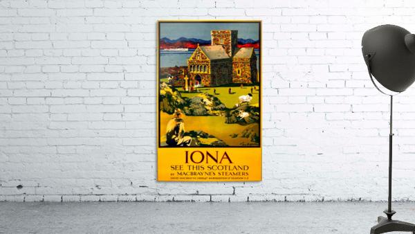 Vintage Travel - Iona Scotland