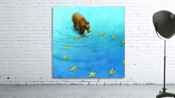gold fishes Print