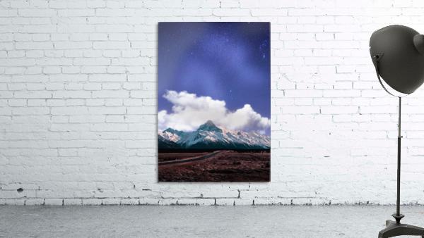Blue Sky Over The Mountain