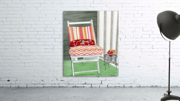 Beach Chair Sans Beach