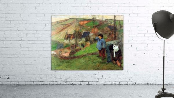Breton Shepherd by Gauguin